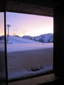 A room with a view in Alpe d'Huez