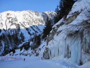 Scenery near Montfrais at Alpe d'Huez