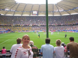 World Cup 2006 in Hamburg. Ecuador vers. Costa Rica