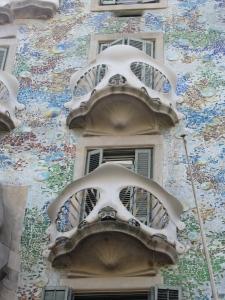 Casa Batlló balconies
