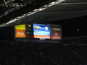 5-0 at Camp Nou against Napoli