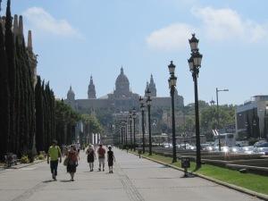Palau Nacional in Barcelona