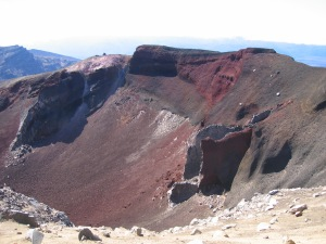 Red Crater at Tongariro Crossing
